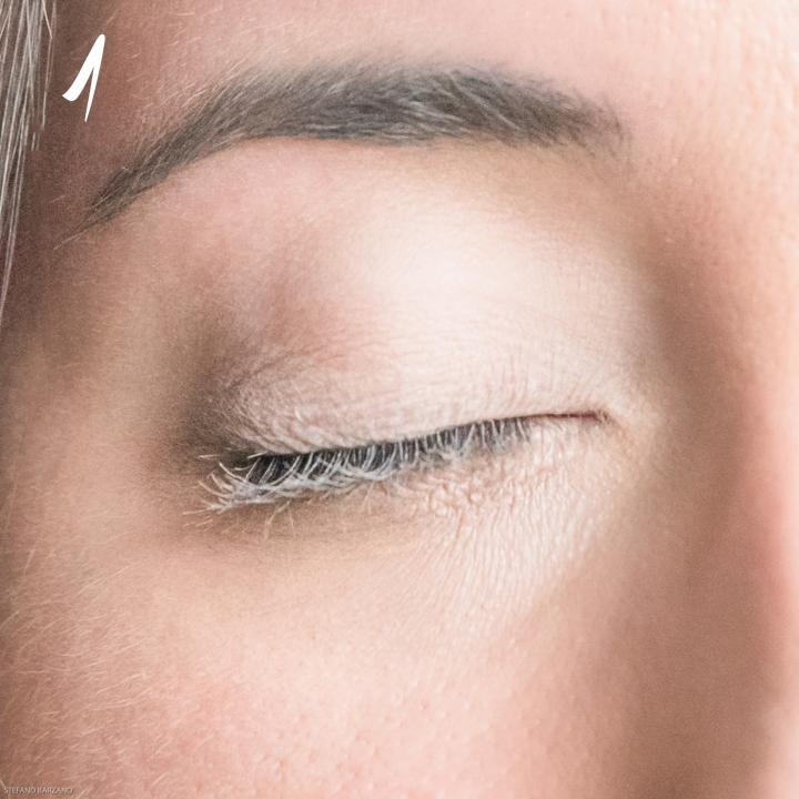 Make Up Occhi tondi tutorial 1