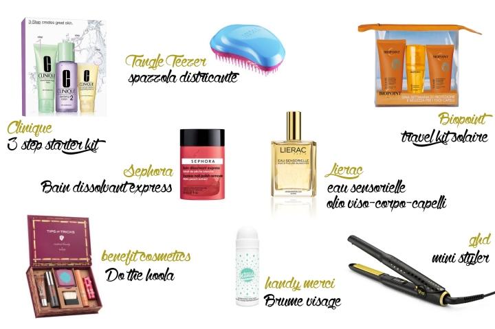 beauty viaggio kit