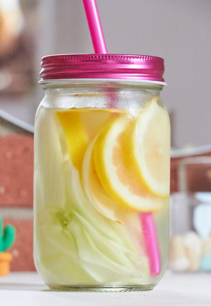 Detox water funocchio limone 2