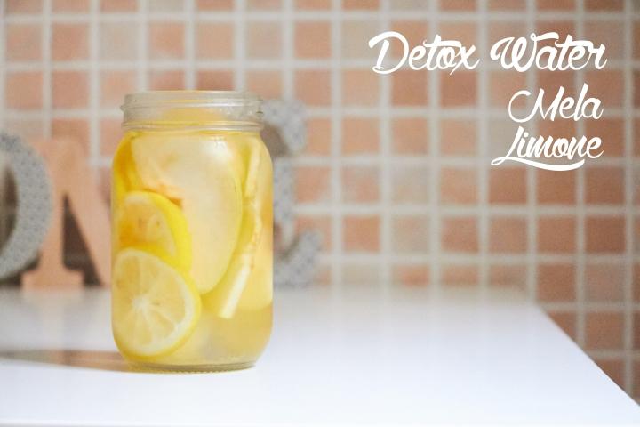 Detox water mela limone 1