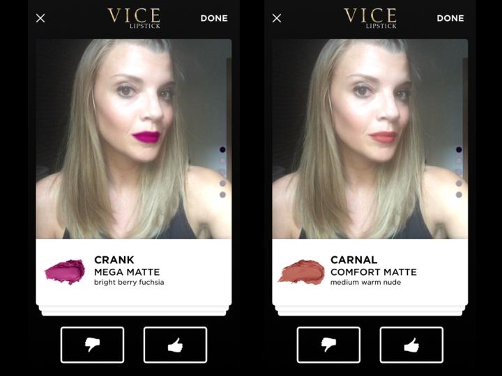 Urban Decay Vice Lipstick app 3