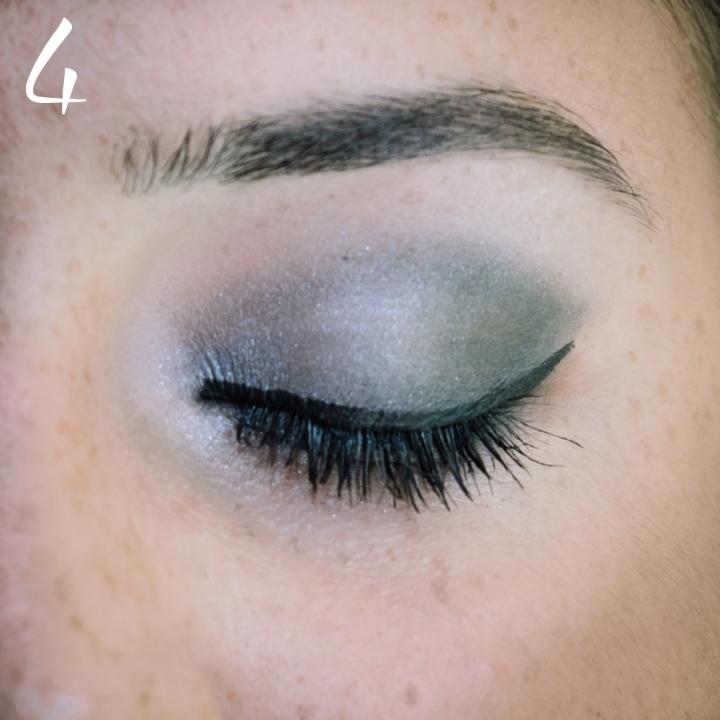 makeup nero grigio occhi sensibili 5