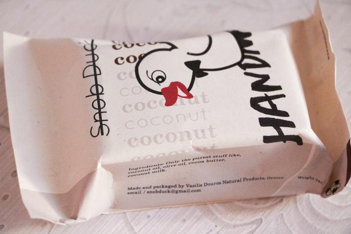 Snob Duck, saponetta al Cocco