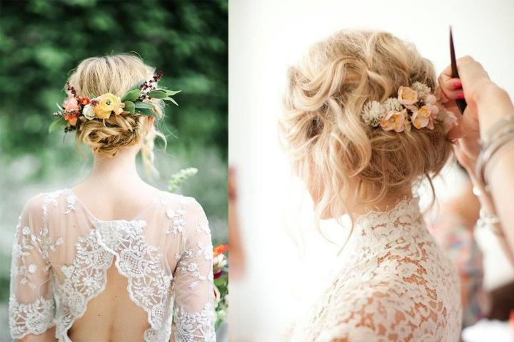 Idee acconciatura da sposa |Pinterest