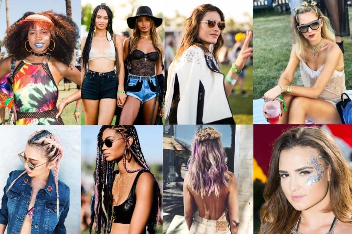 Coachella 2017 | Make Up & Capelli dacopiare