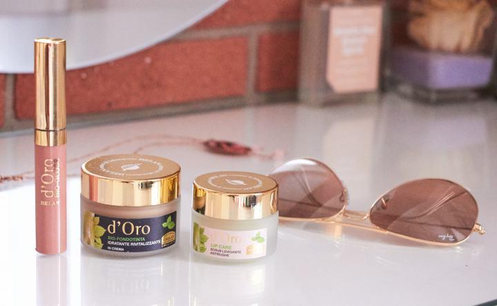 D'Oro Helan | Fondotinta, Lip Scrub &Rossetto