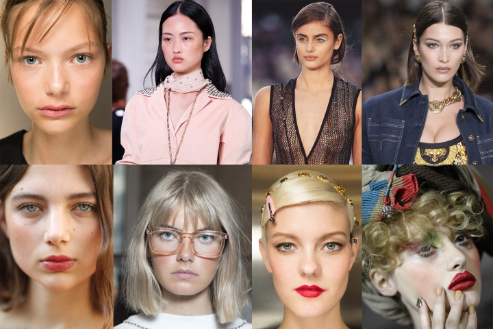 Make Up trend PE 2018 dalla Milano Fashion Week